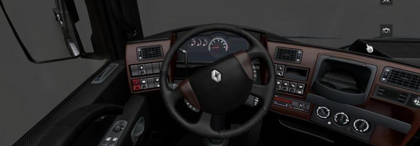 Renault Magnum interior