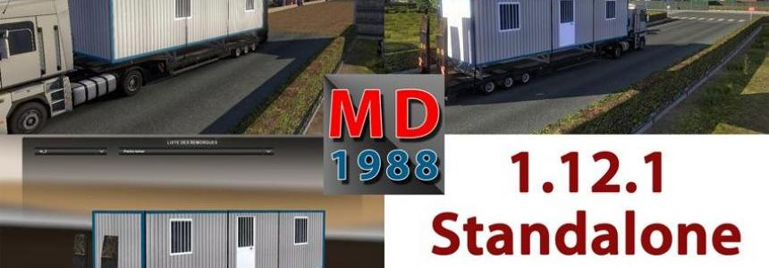 "Trailer ""Site hut"" v1.12.1"