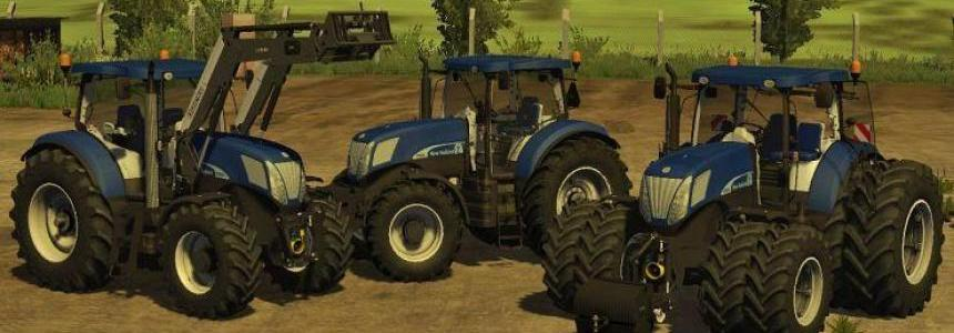 New Holland T7070 BluePower Pack v2