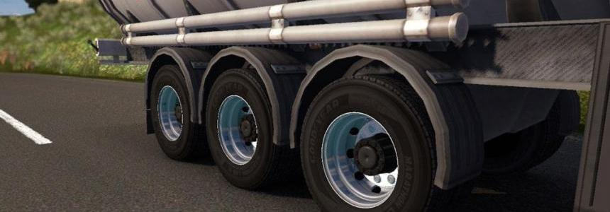 Double Wheels for Trailers