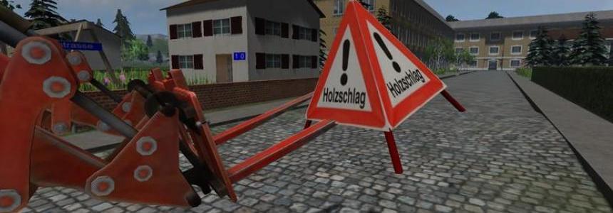 Absperrung Holzschlag v1.0
