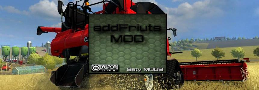 Add Fruits MOD BETA version