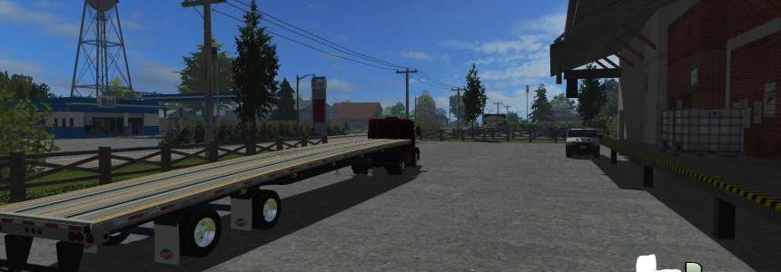 American Flatbed Trailer