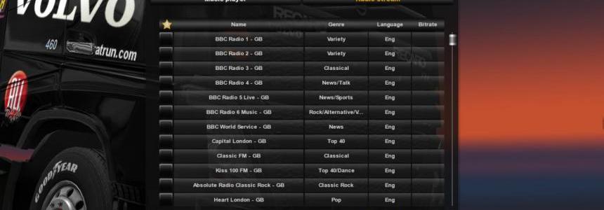 Awesome Radio / 290+ European Radio Stations v1.2