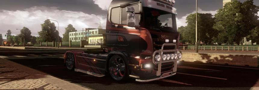 BCD scania Race pack Mod V1.0