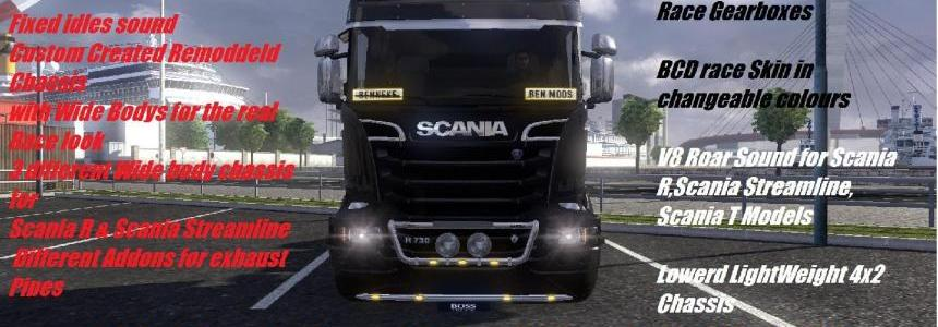 BCD Scania Race Pack Version 1.1