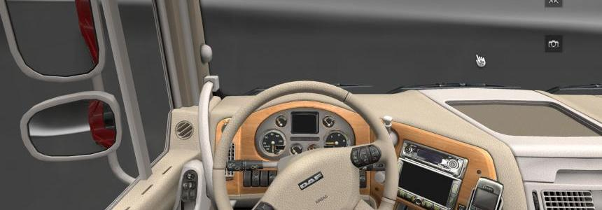 Beige interior for DAF XF