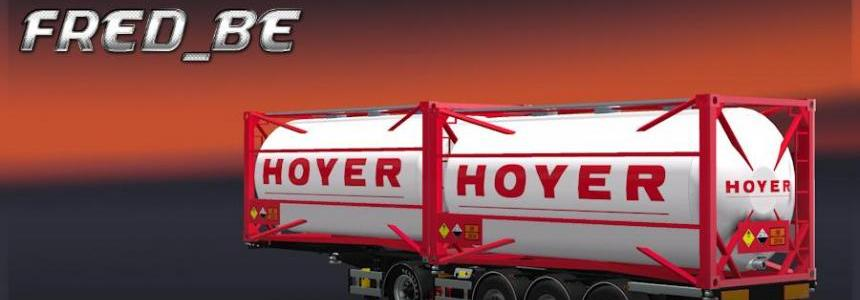 Chemical Hoyer Trailer