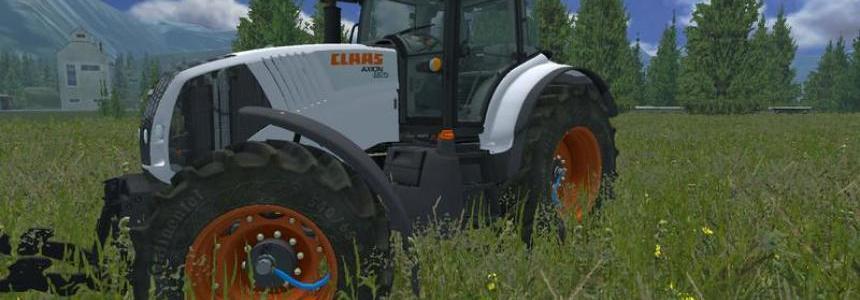 Claas Axion 830 SKIN v1.0 Weiss