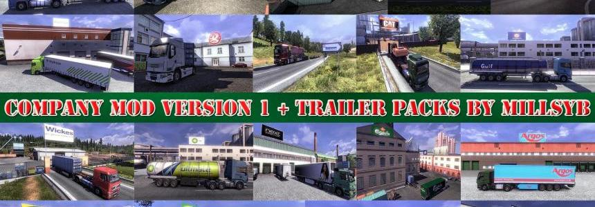 Company Mod Version v1 + Trailer Packs