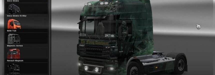 DAF XF The Flying Dutchman Skin v1.0