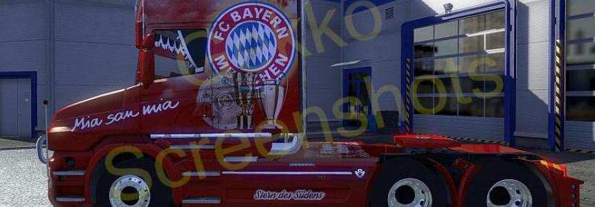 FC Bayern Scania T model v1.12