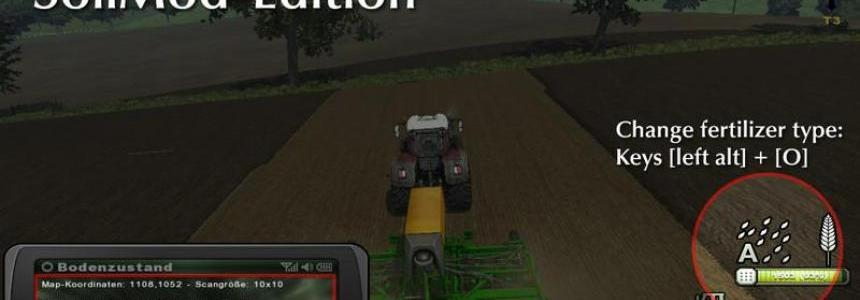 Fertilization for seed drills v4.0 SoilMod Edition