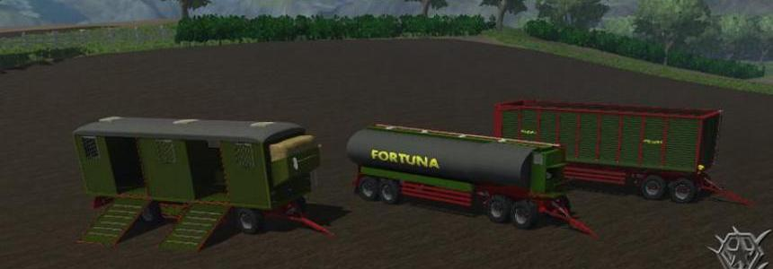 Fortuna trailer and cattle trailer v1.0