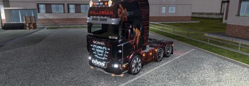 Halloween All Truck Skin v1.0