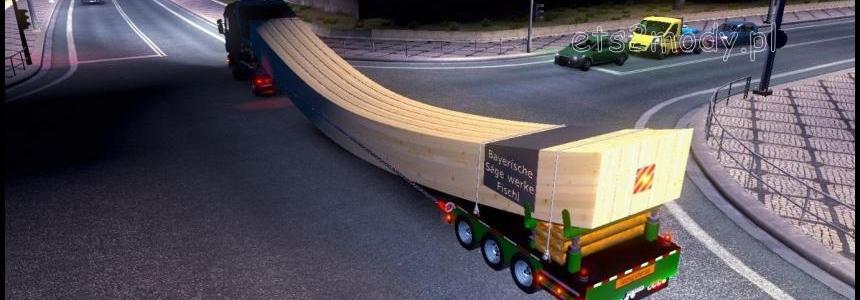 Holzbrucken trailer Schwerlast v1.12.1