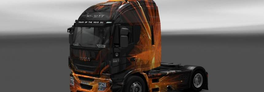 Iveco Hi Way Cubical Flare Skin