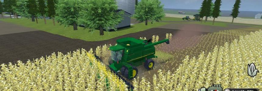 John Deere 9750sts multi fruit