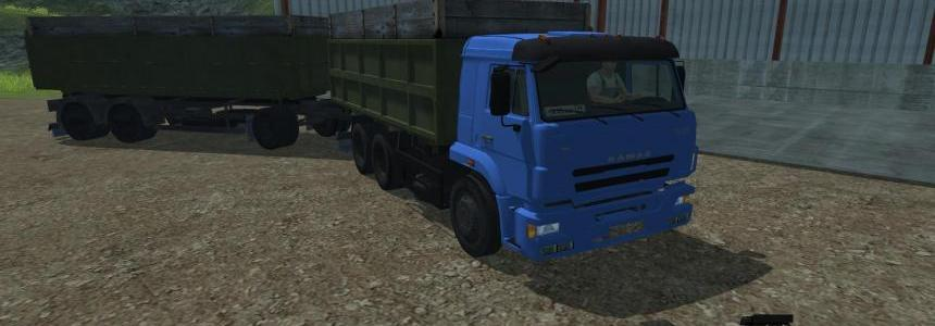 KamAZ Euro 420 Turbo & 8560 Trailer v2.0
