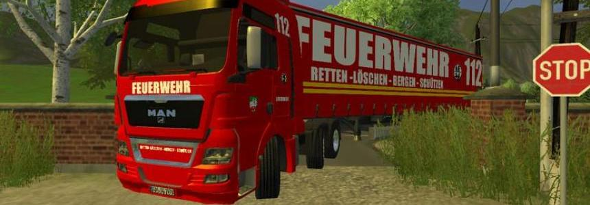 MAN TGX firefighters v1.5