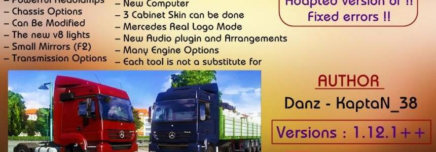 Mercedes Benz Axor Ultimate Mod V2 | 1.12.1+