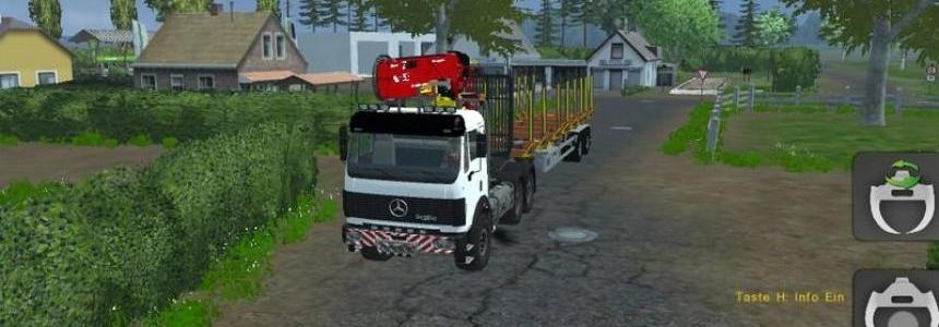 Mercedes Benz SK 2653 timber loader v1.0