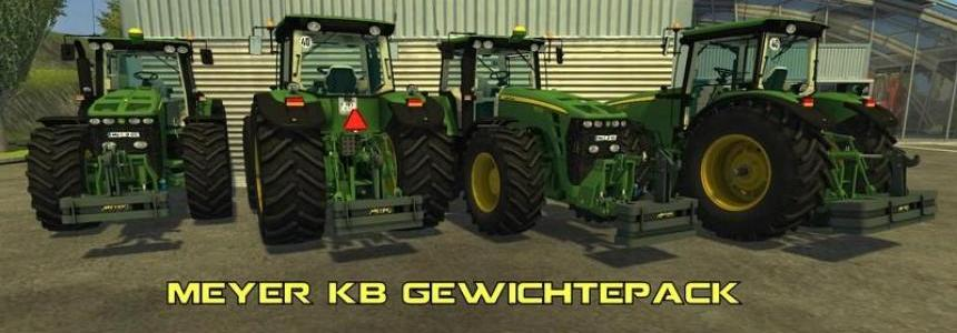 Meyer KB weights Pack v1.0