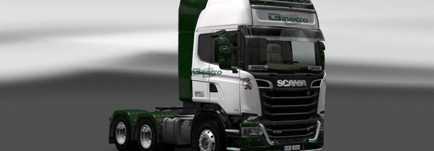 Scania Streamline Binotto Skin