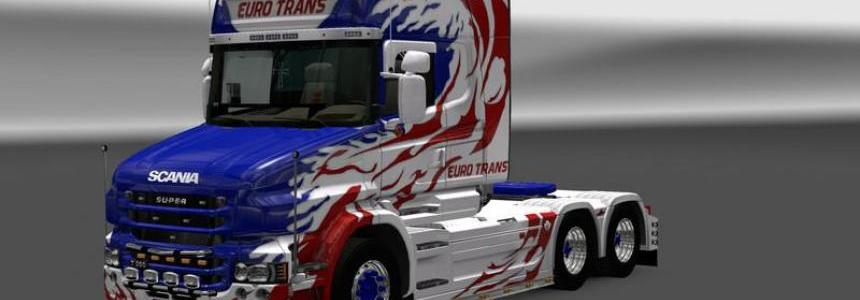Scania T Longline reworked v1.11