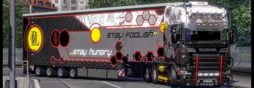 Scania Truck Show R2009 + Trailer Skin