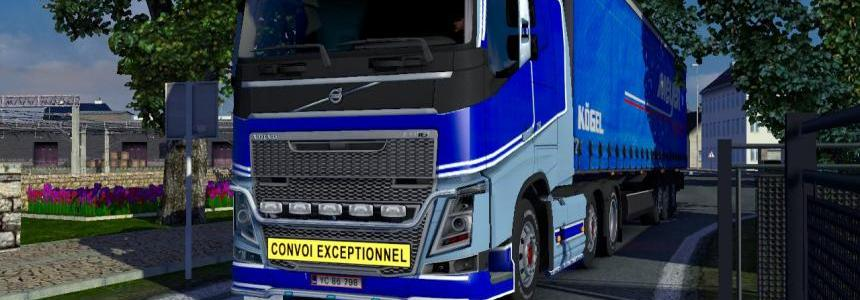 Tgv skin for volvo FH 1.12.1