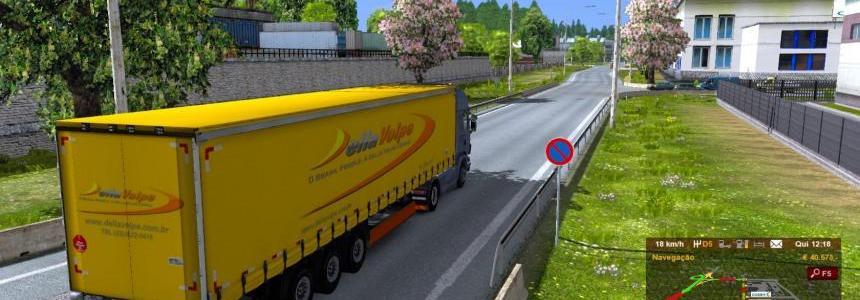 Trailer DellaVolpe Transportes