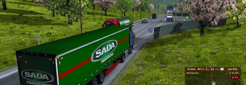 Trailer SADA Transportes
