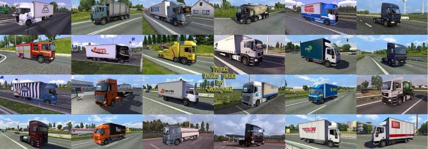 Truck traffic pack by Jazzycat v1.5