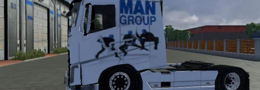 Volvo Blue Man Group Skin v2.0
