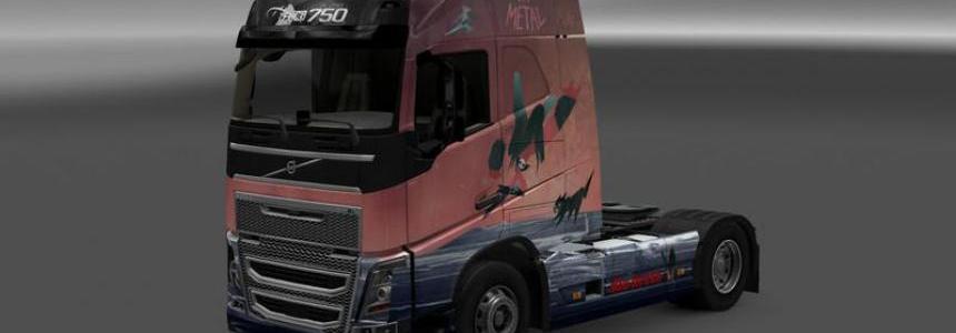 Volvo Cpt Metal Skin v1.0