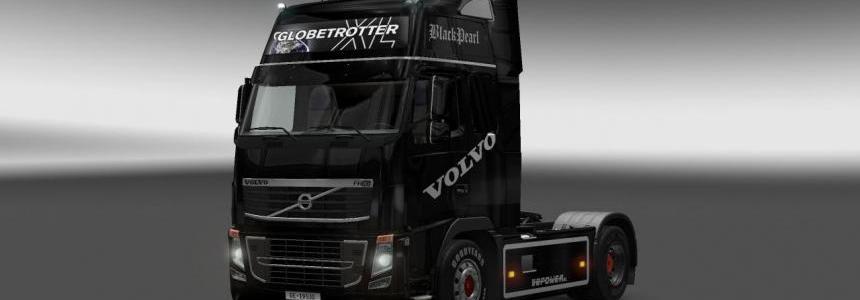 Volvo FH 2009 Black Pearl Skin 1.12.1