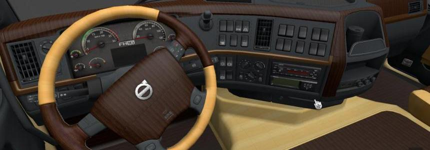 Volvo Fh 2009 Wood Interior