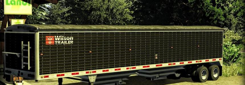 Wilson 2 axle grain trailer