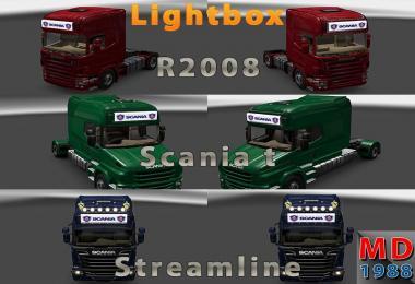 Lightbox Scania Streamline, R2008, Scania T