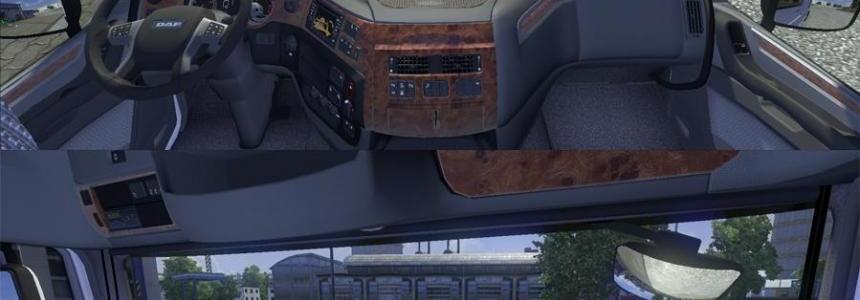Seat adjustment no limits DAF Euro 6 v1.0