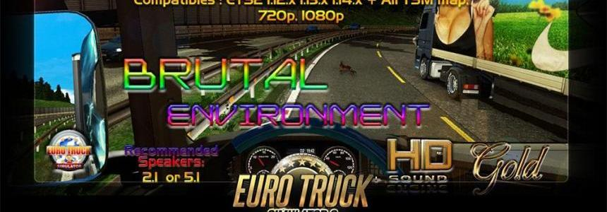 Brutal environment HD + SOUND engine GOLD