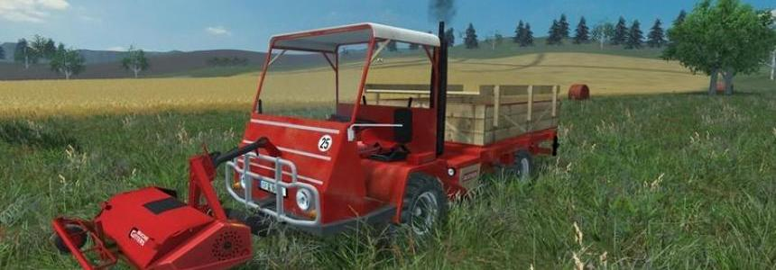 Bucher TRL 2600 and Mower v1.0