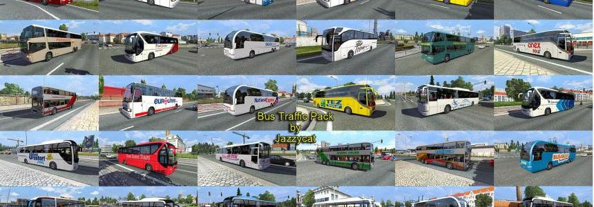 Bus traffic pack by Jazzycat v1.1