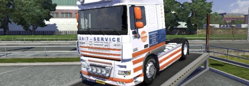 DAF 50 K v1 - Truckland 1.13.x & 1.14.x
