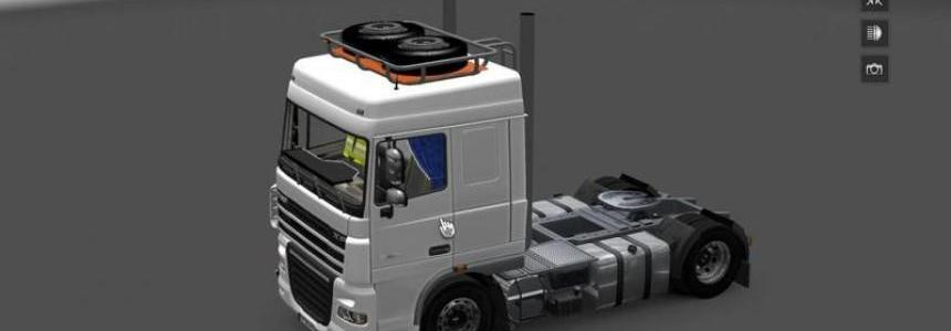 DAF XF and Interior v1.0
