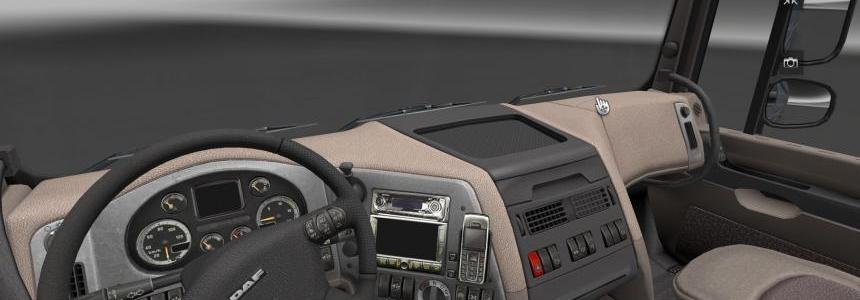 DAF XF Euro 6 Chrome Dashboard