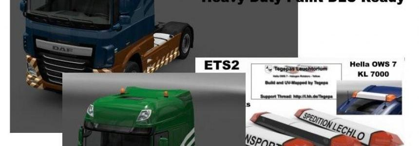 DAF XF Euro6 Heavyduty Paints v1.0