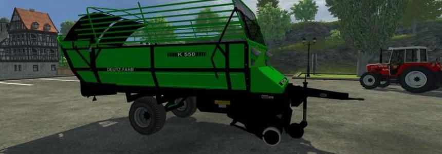 Deutz Fahr Ladewagen v1.0