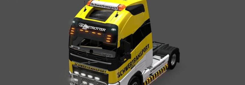 Heavy transport YELLOW BLACK v1.1